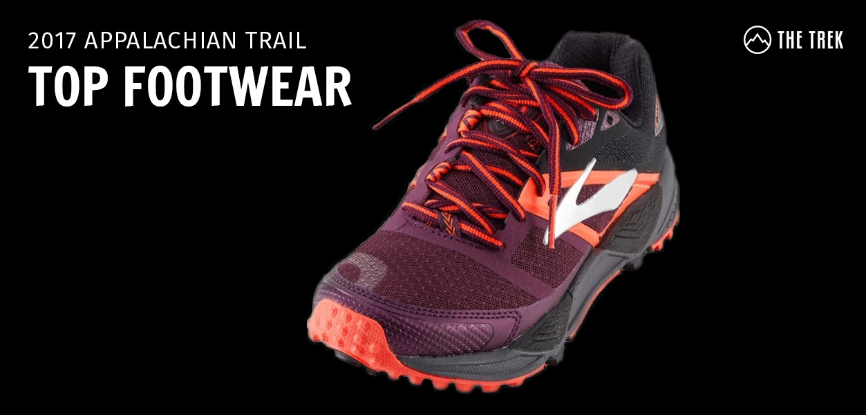 527a9eb173a8 The Top Trail Runners and Hiking Boots on the Appalachian Trail in 2017