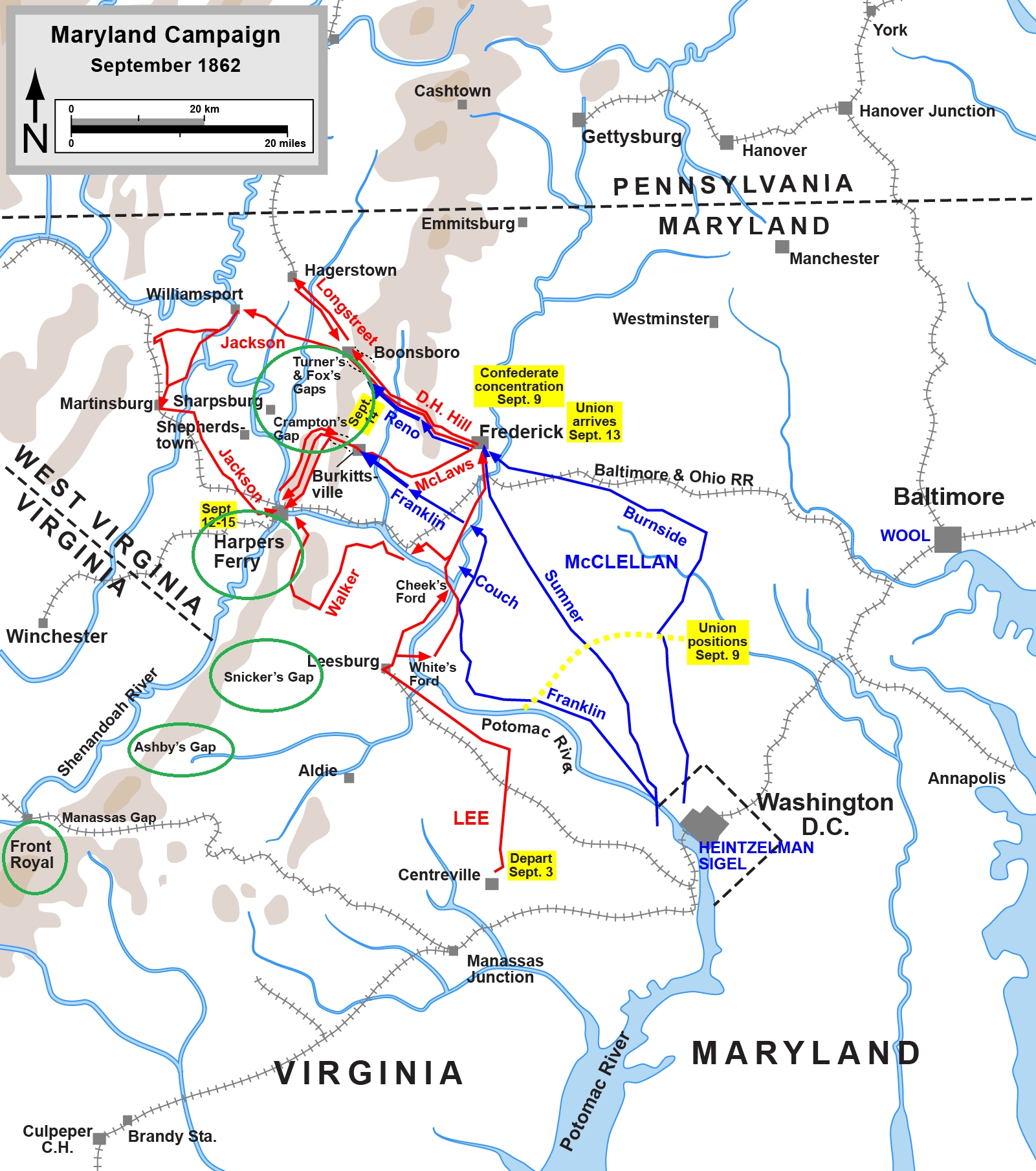 Hiking with History on the Appalachian Trail: Civil War ...