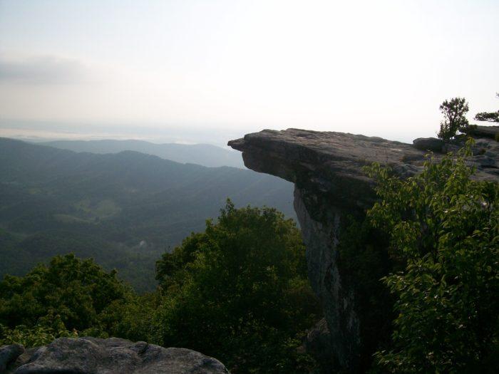 mcafee knob virginia appalachian trail