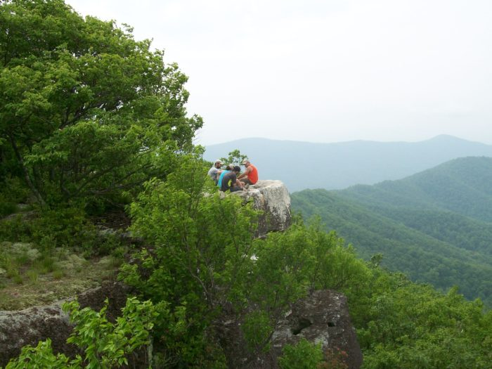 tinker cliffs virginia appalachian trail