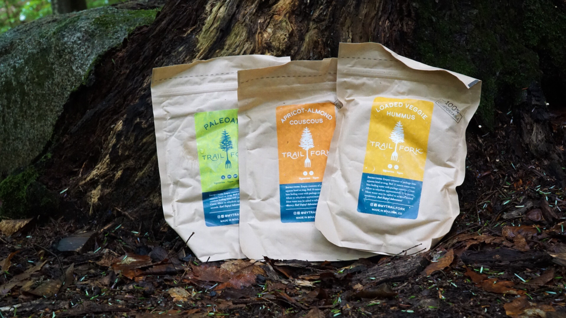 TrailFork Backcountry Dehydrated Meals