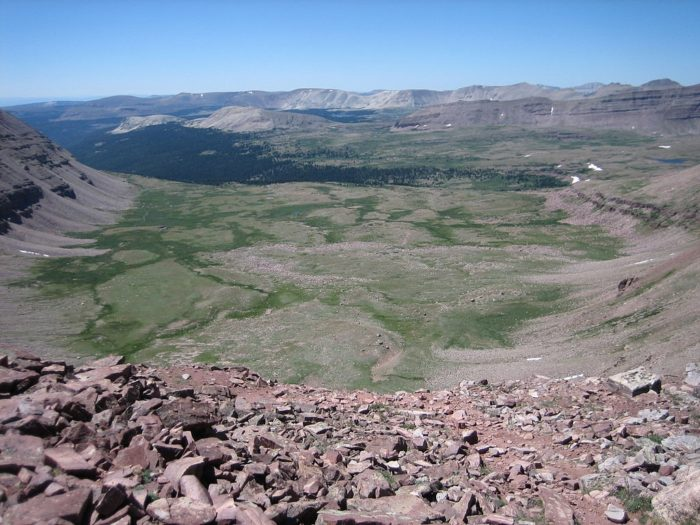 Best Hikes in Wyoming and Utah Uinta Highline Trail