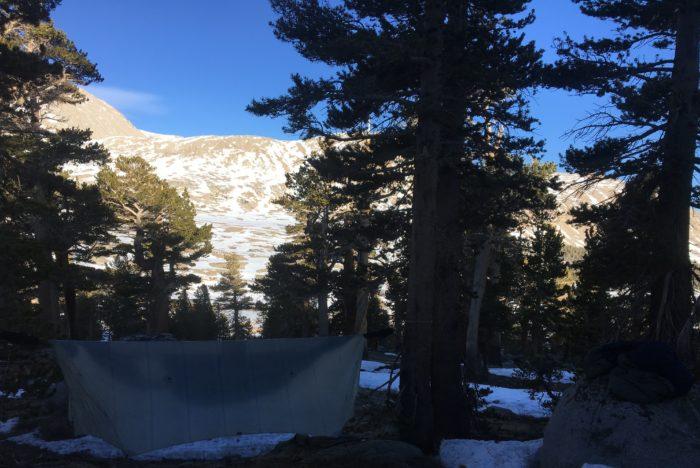 hammock camping PCT