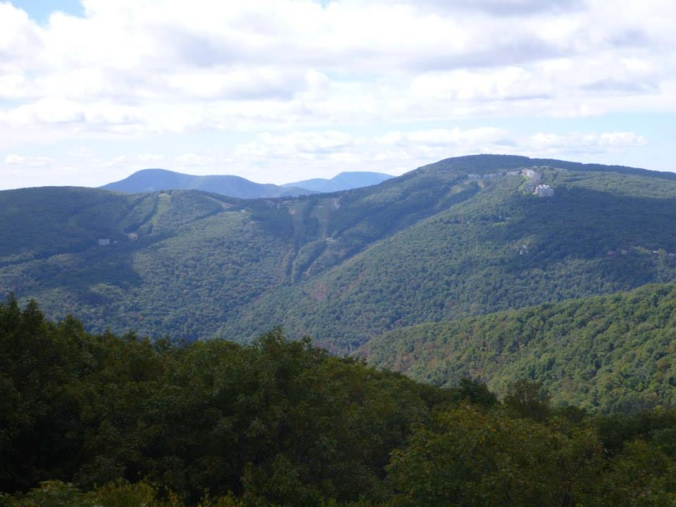 Humpback Mountain view. How to Section Hike Virginia.