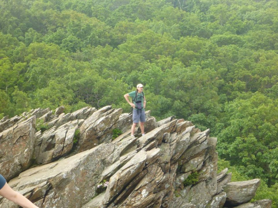 Humpback Rocks | How to Section Hike Virginia.