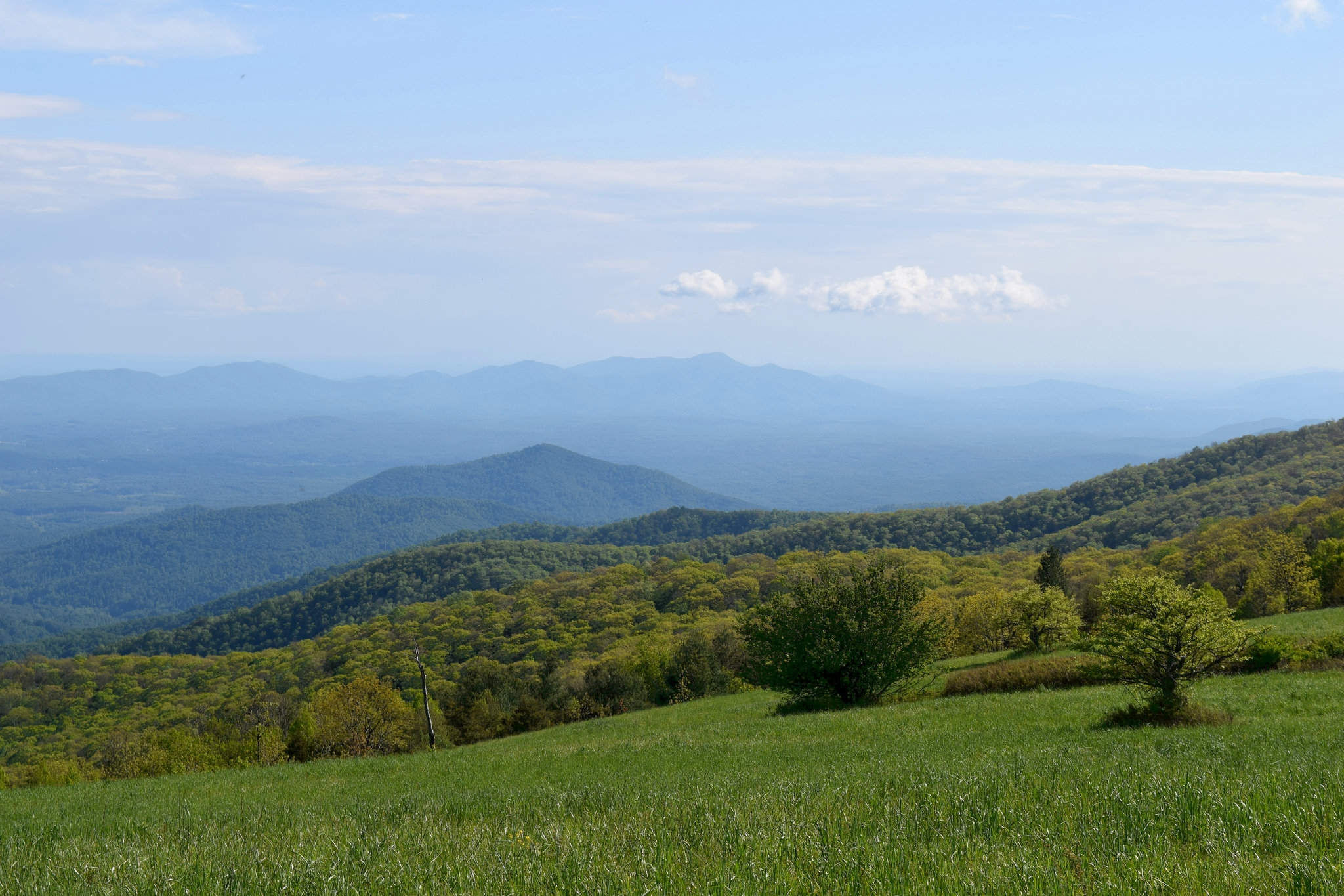 How to Section Hike Virginia.