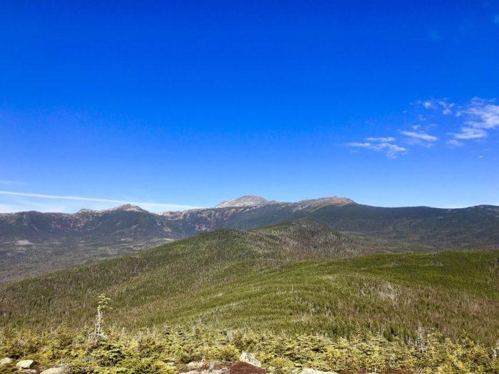 new hampshire hike mountains scenery