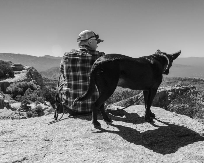 Overlook, Dog, Rincon Mountains, Arizona, AZT