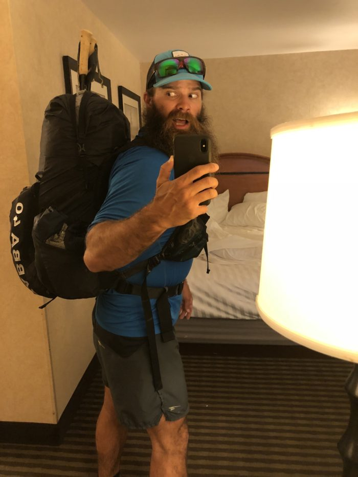 The Real Hiking Viking Colorado Trail FKT Backpack Mountain Smith Jabba 40 L
