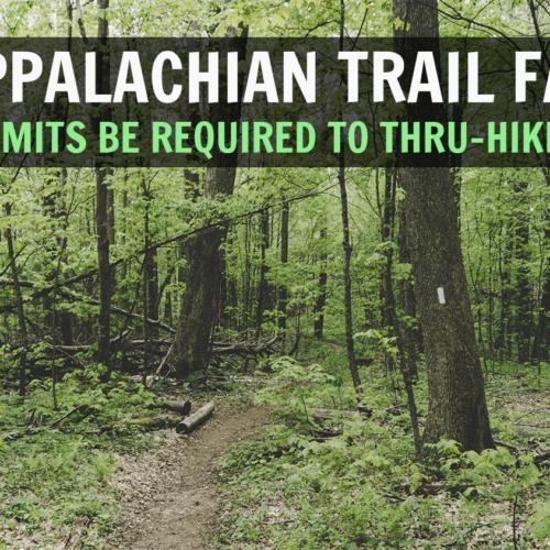 appalachian trail faq permits on the AT