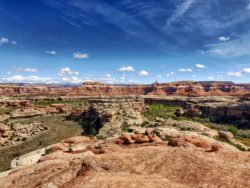 backpacking in canyonlands