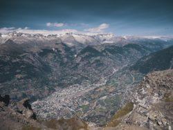 Glishorn mountain, Switzerland