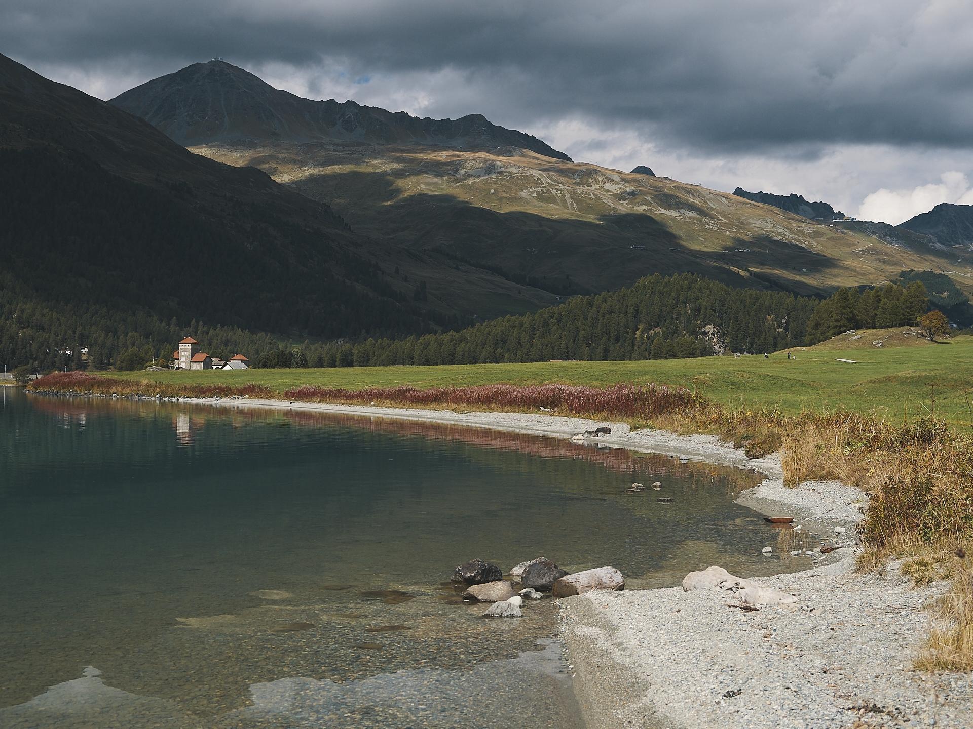 Silvaplana lake, Switzerland