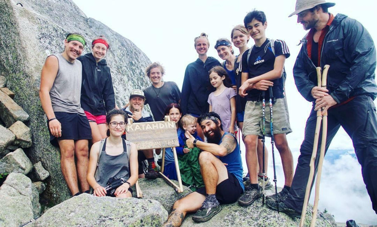 How the 8-Member Crawford Family Completed the Appalachian Trail
