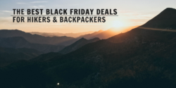 black friday deals for hikers backpackers