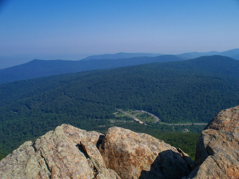 Virginia Blue Ridge Mountains Shenandoah National Park Trekking Pole Decal