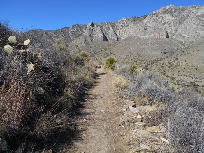 great plains trail texas guadalupe mountains