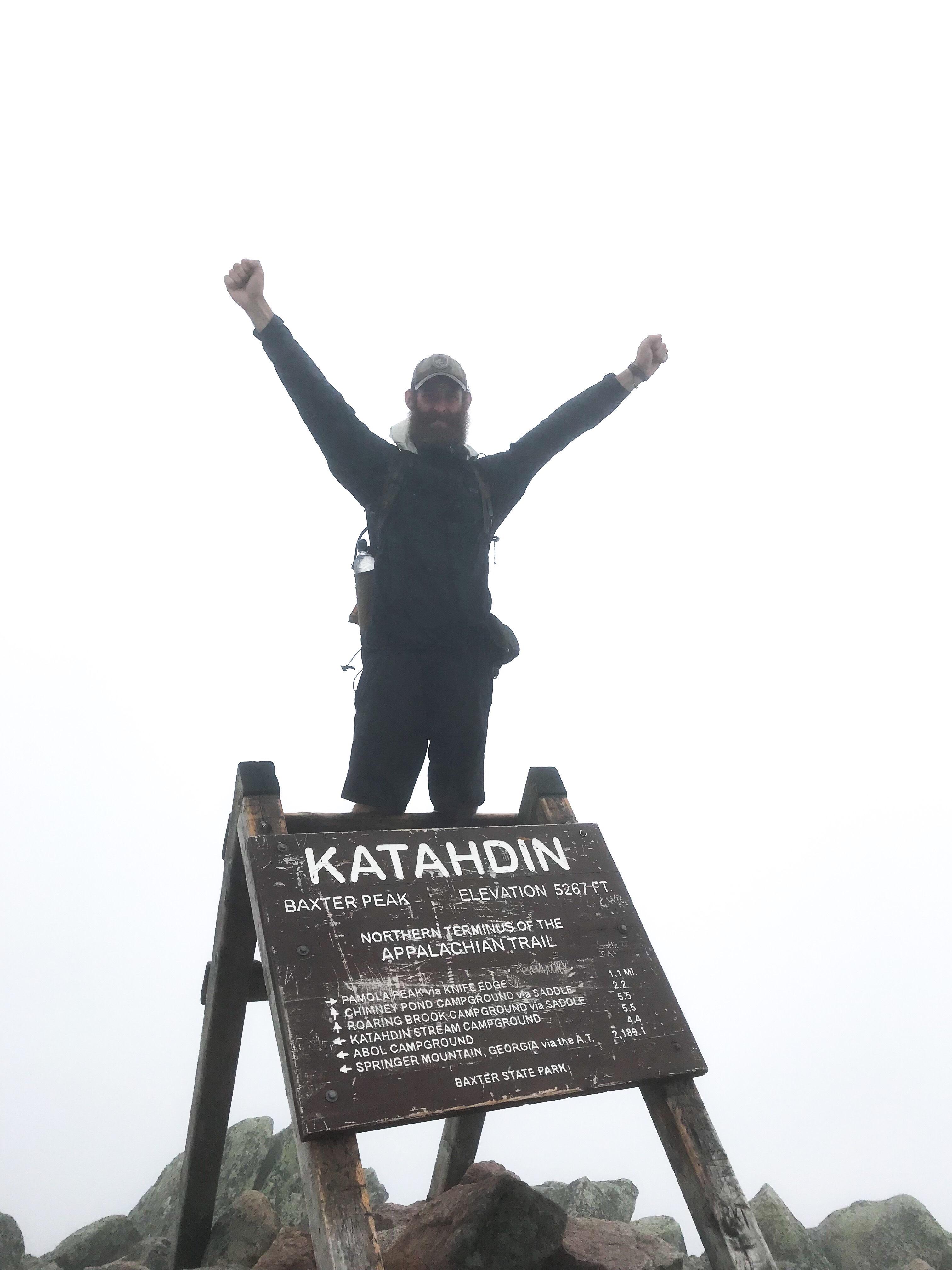Appalachian trail hikers 2020