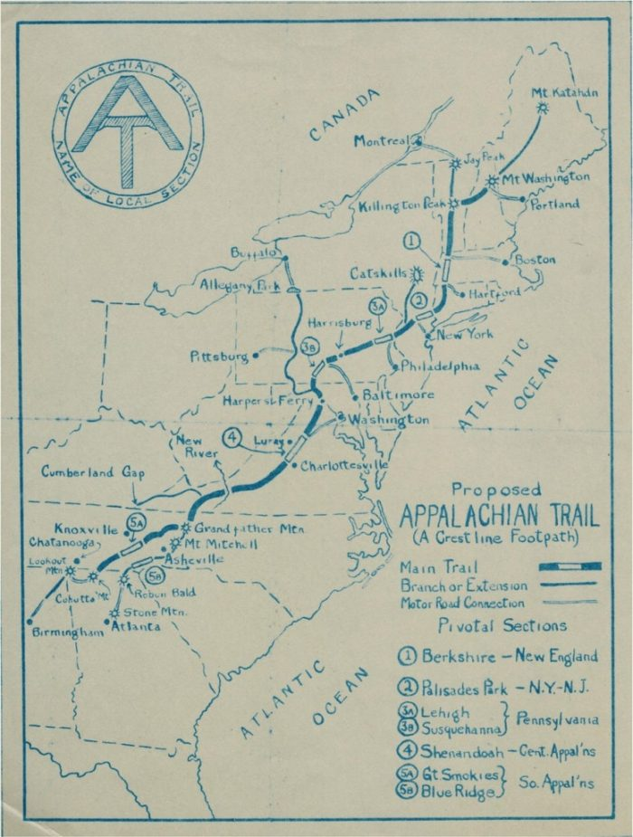 history of the appalachian trail