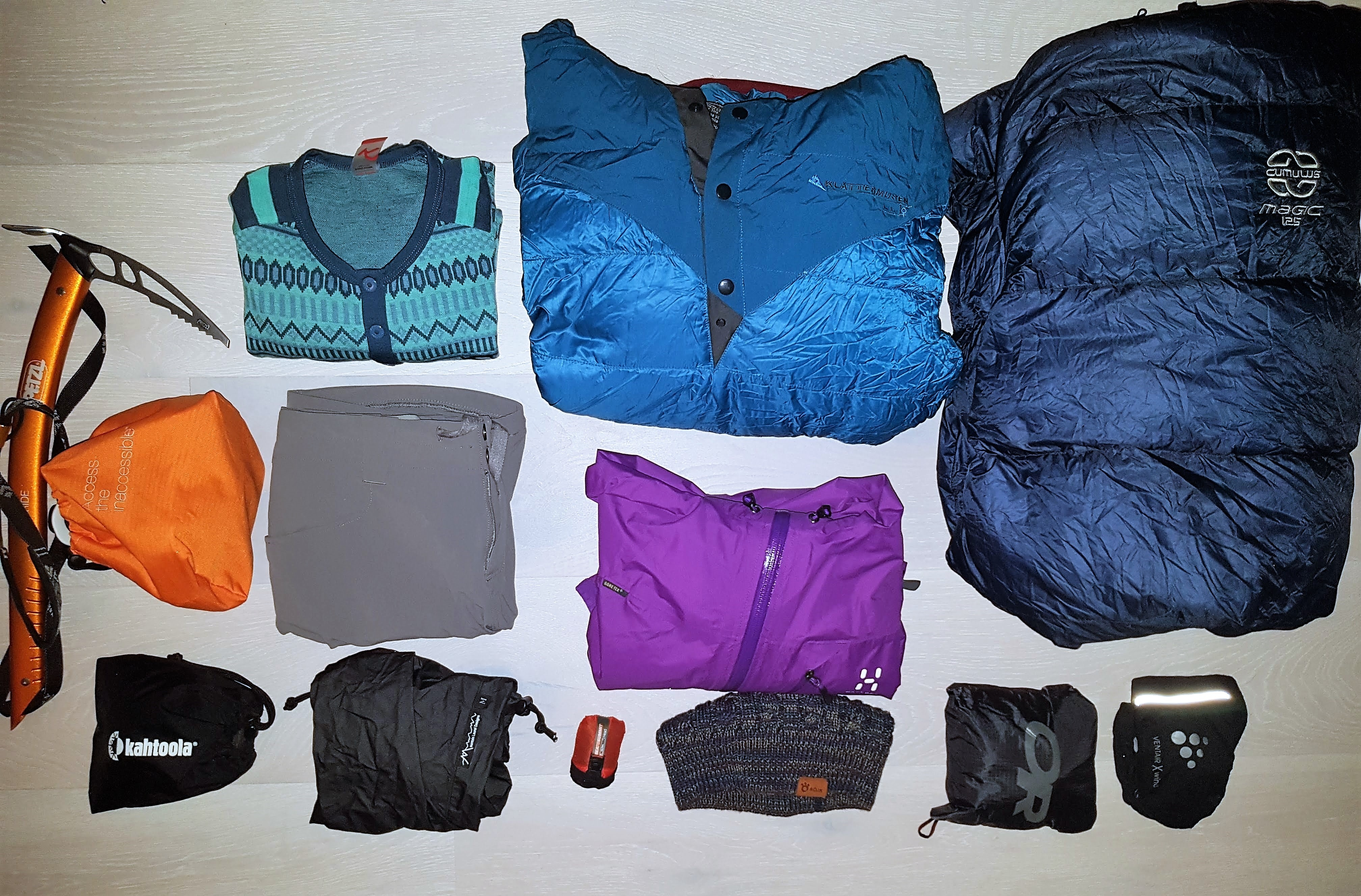 CDT Gear List, Part 4: Electronics, Miscellaneous, and Snow Gear
