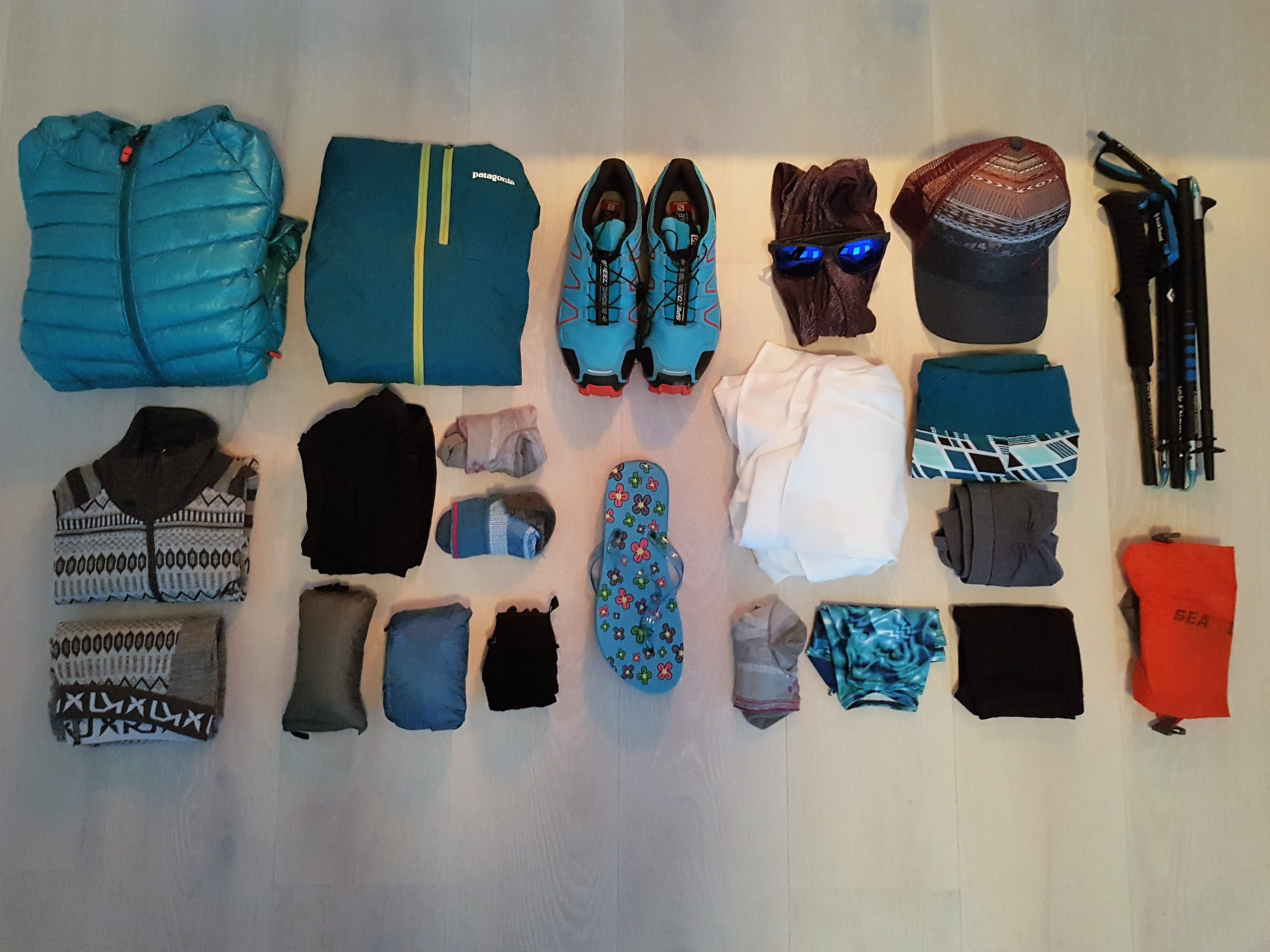 CDT Gear List, Part 5: Clothing and Complete List