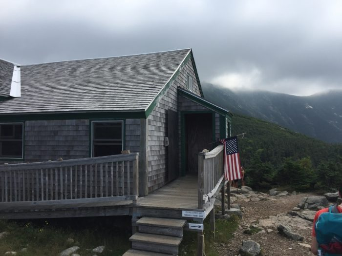 AMC hut white mountains