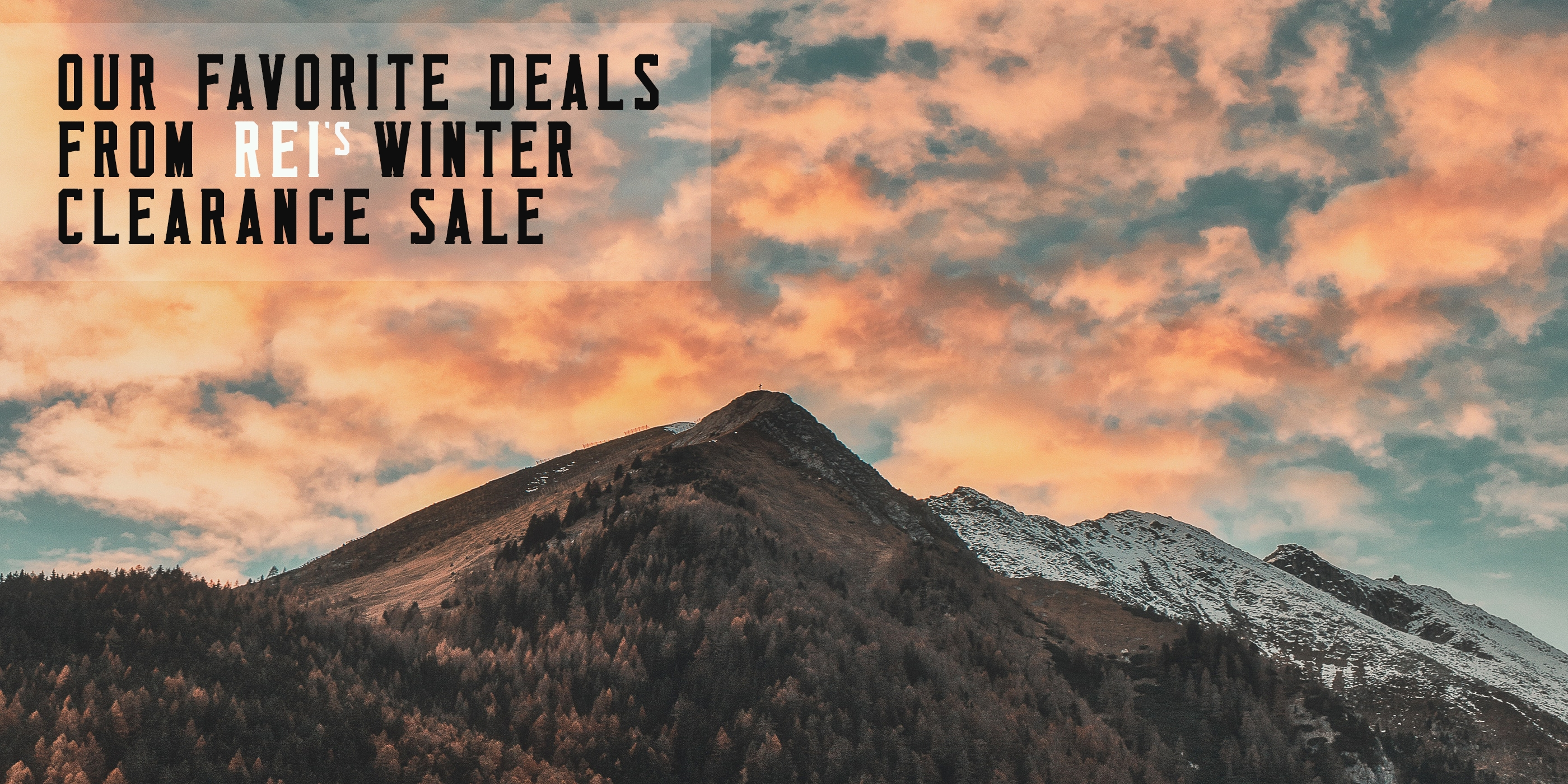 1fca4cd21 The Best Deals for Backpackers at REI's Winter Clearance Event - The ...
