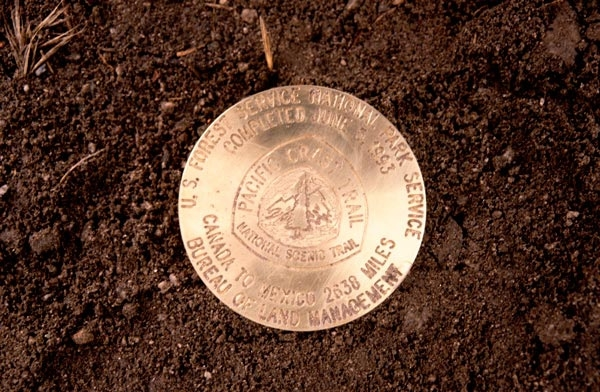 The Golden Spike of the Pacific Crest Trail