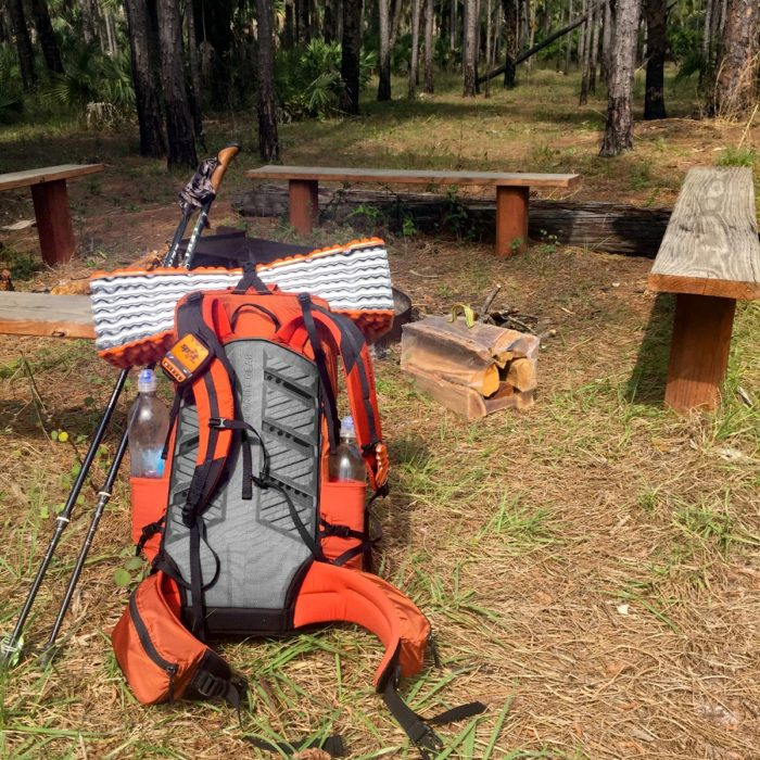 Nemo Switchback sleeping pad Florida hiking