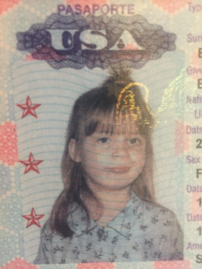 5 year old passport picture