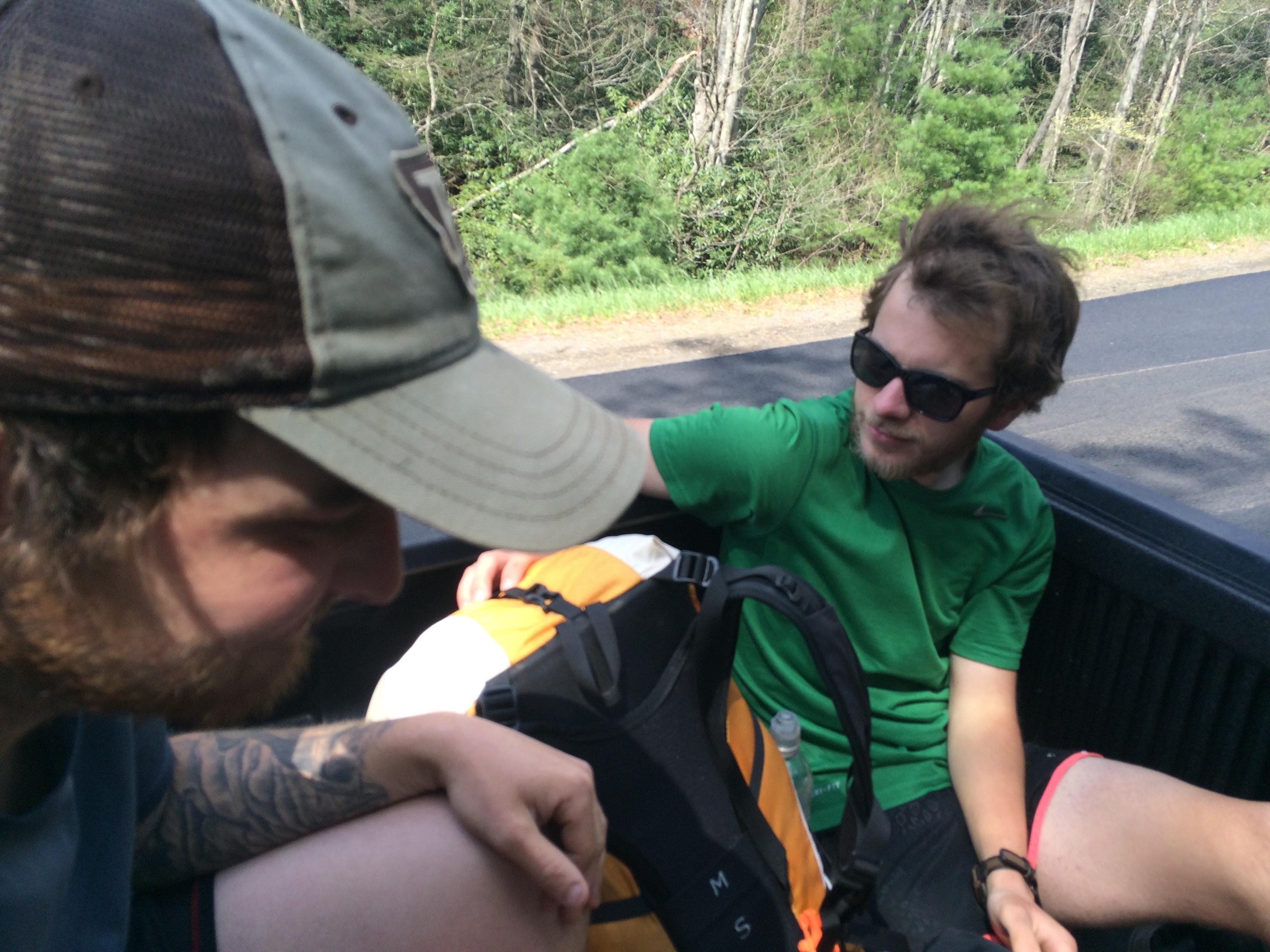 hitchhiking Appalachian Trail