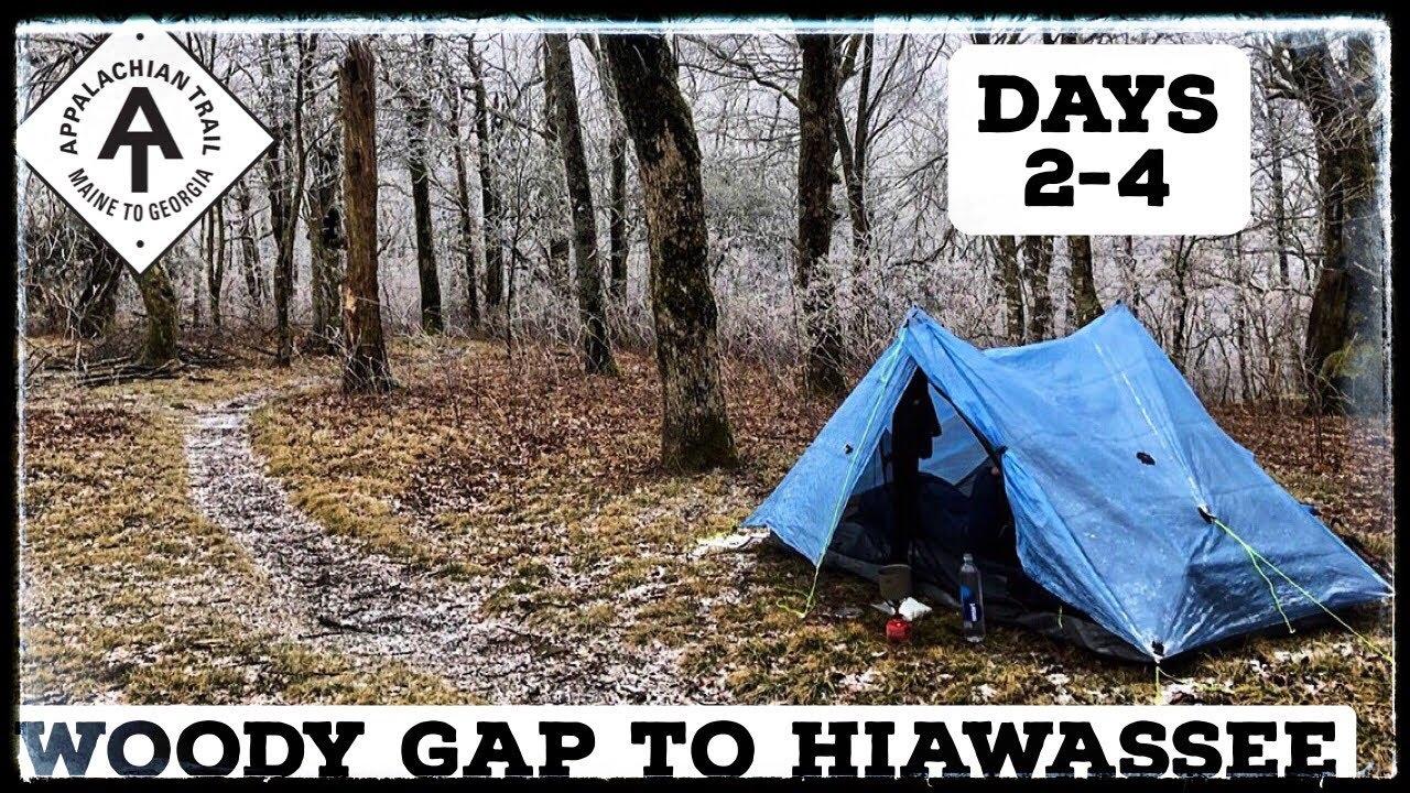 Julie's Appalachian Trail Vlog #4: Woody Gap to Hiawassee GA