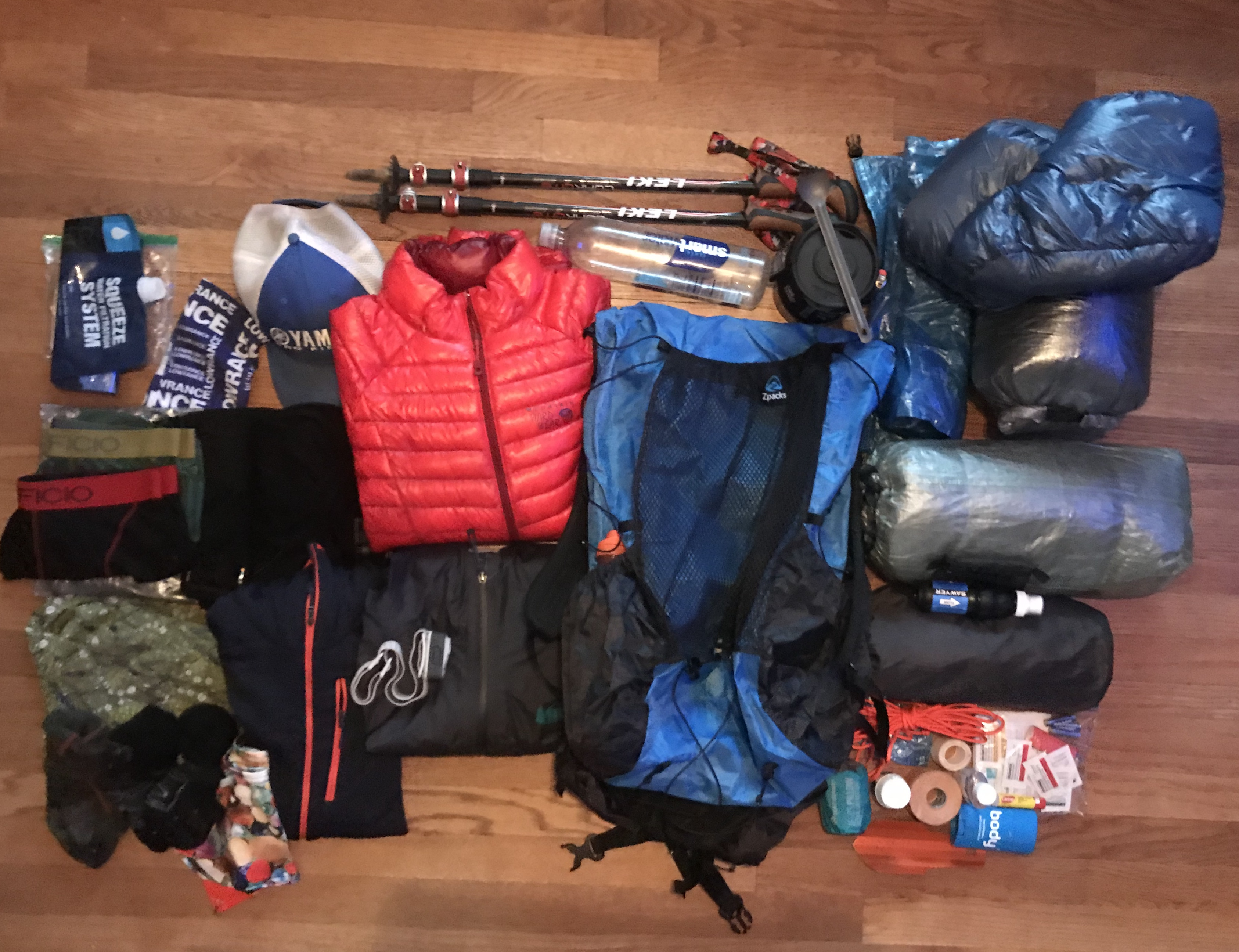 Gearing Up - Gear List for the AT