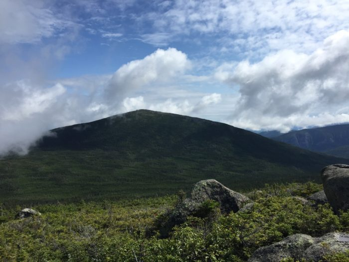 a photo of North Brother in Baxter State Park in Maine
