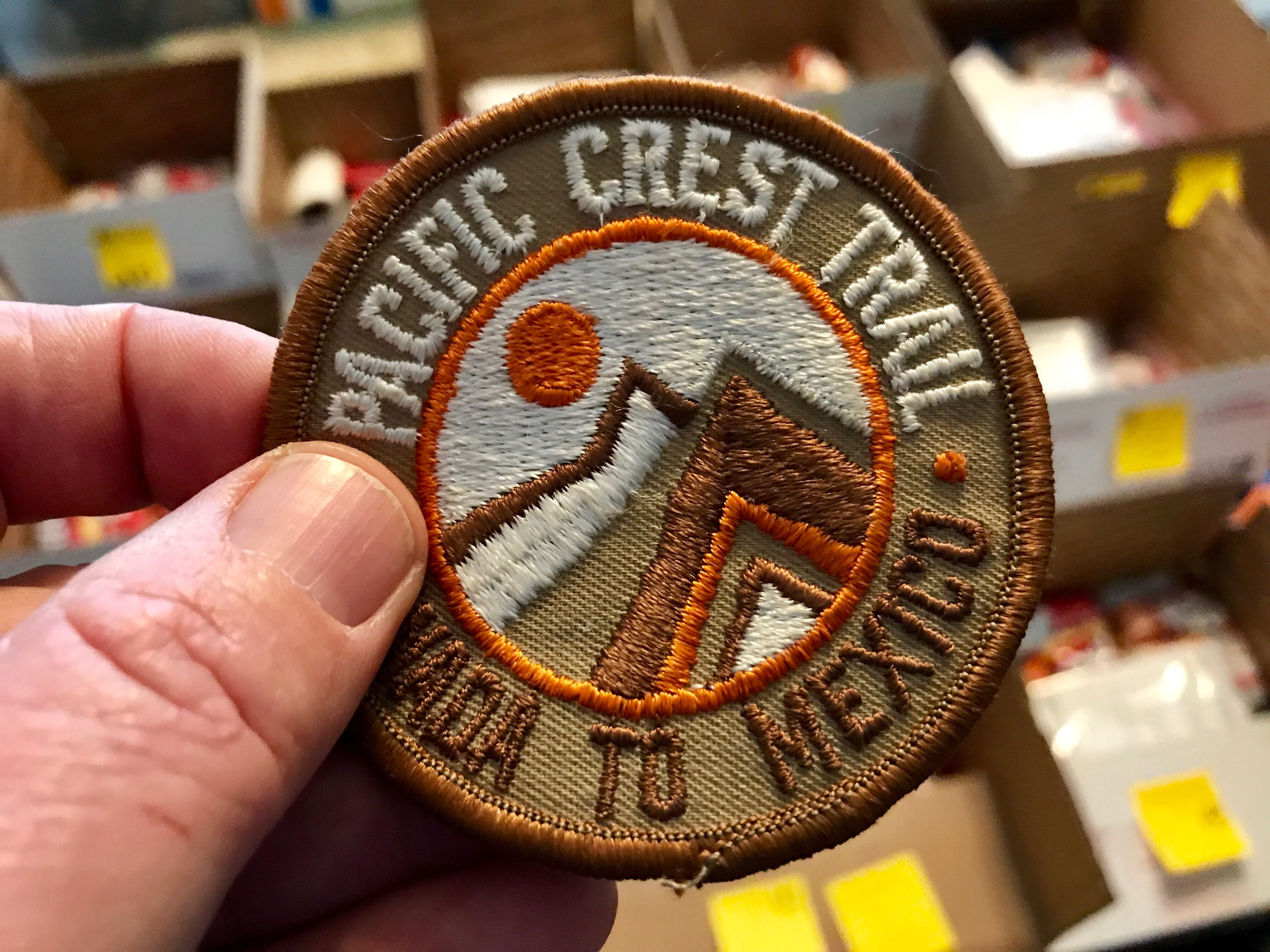 The PCT finally arrives front and center in this hiker's life