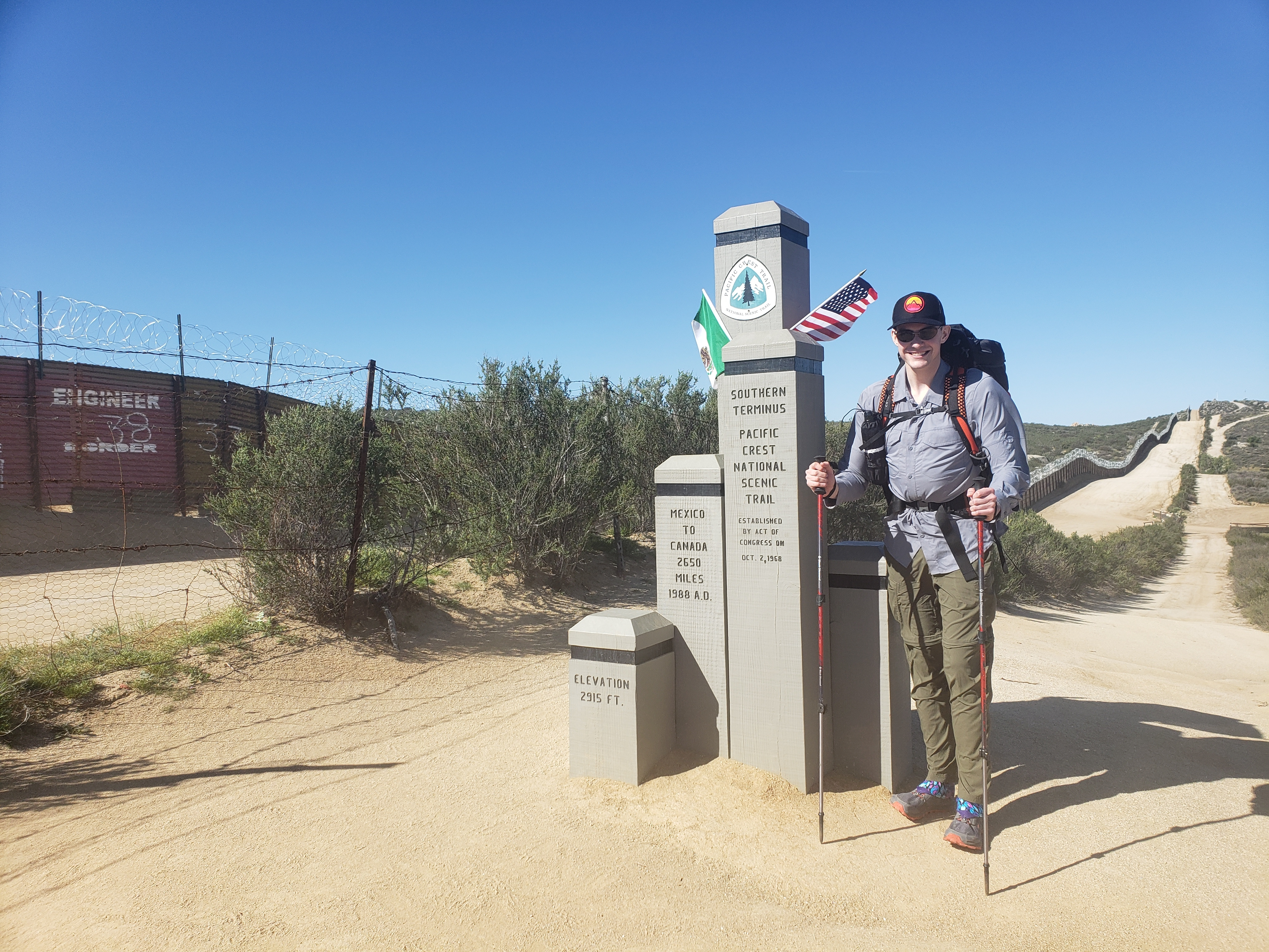 A Whole New Life: Day One on the Pacific Crest Trail - The Trek