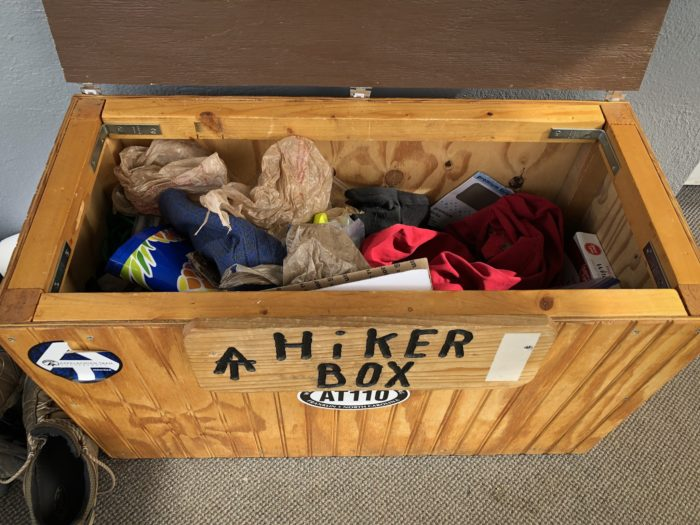 Hiker box