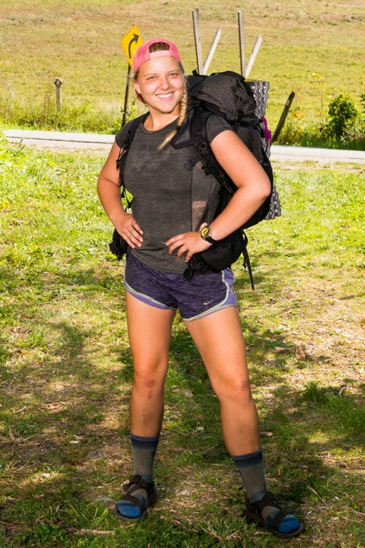 chaco sandals kelsi mayr appalachian trail david brockstein