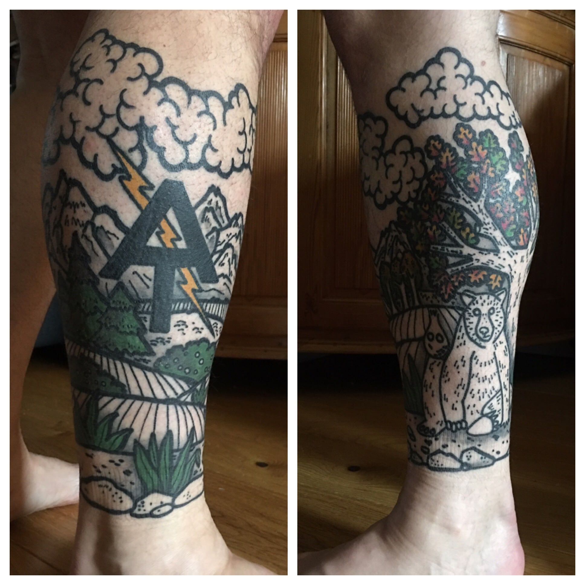 Appalachian Trail Tattoo