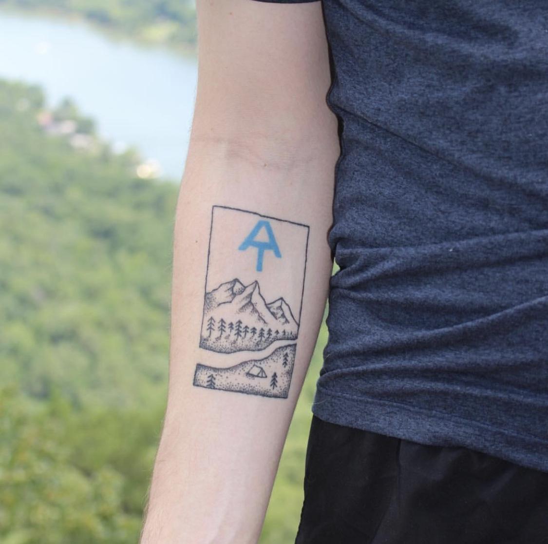 Appalachian Trail Tattoo