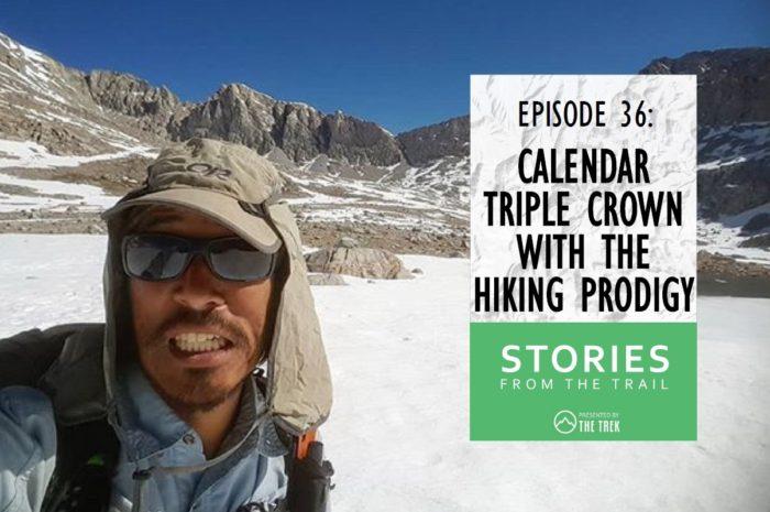 Calendar Triple Crown Tyler Lau trail name Hiking Prodigy