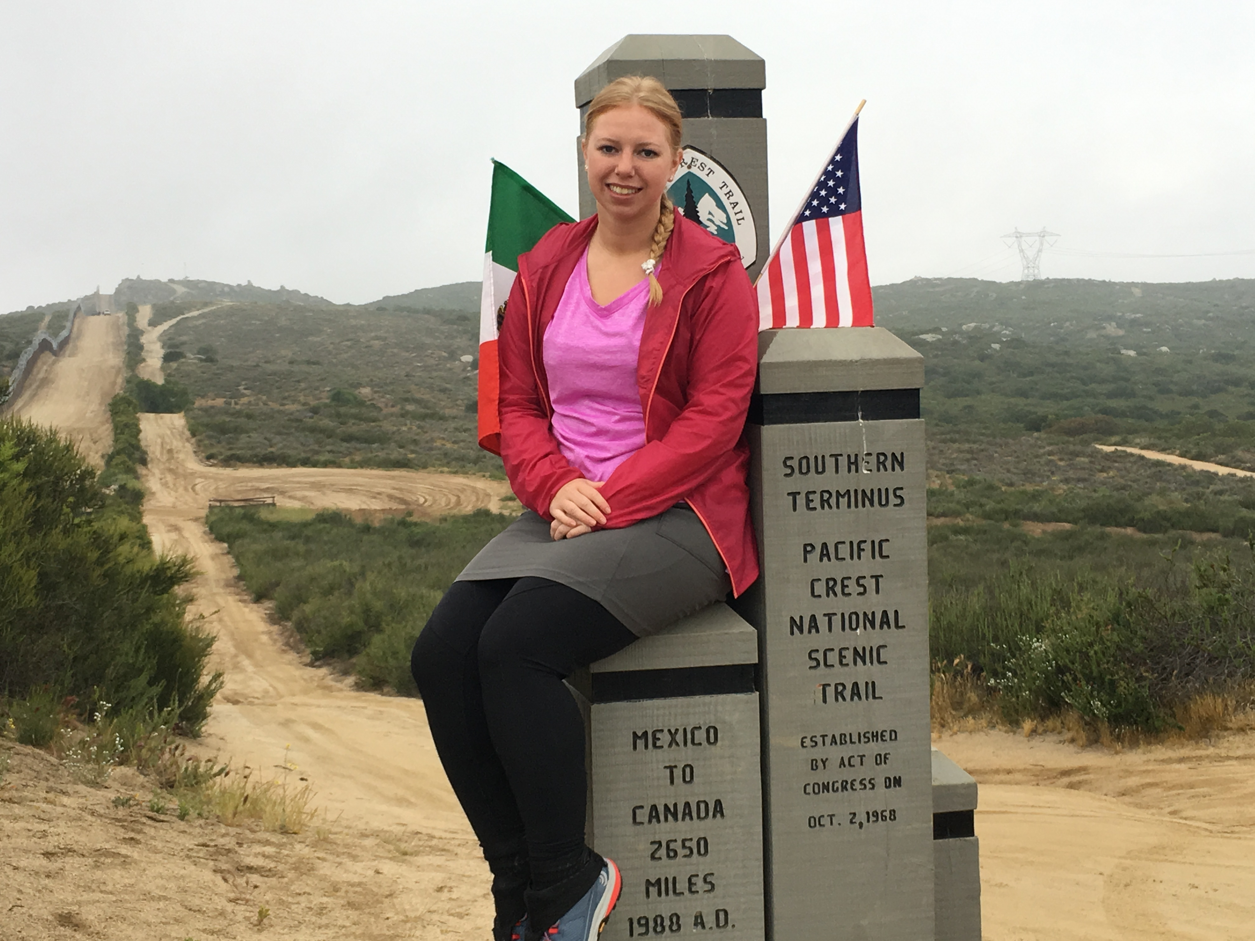 I at the border to Mexico