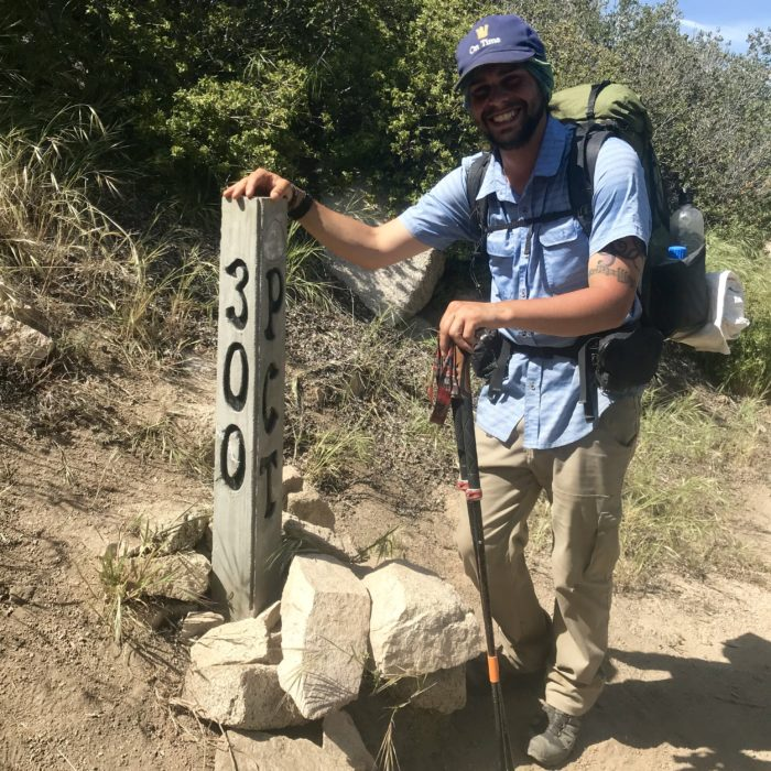 Pacific Crest Trail 300 Mile Mark