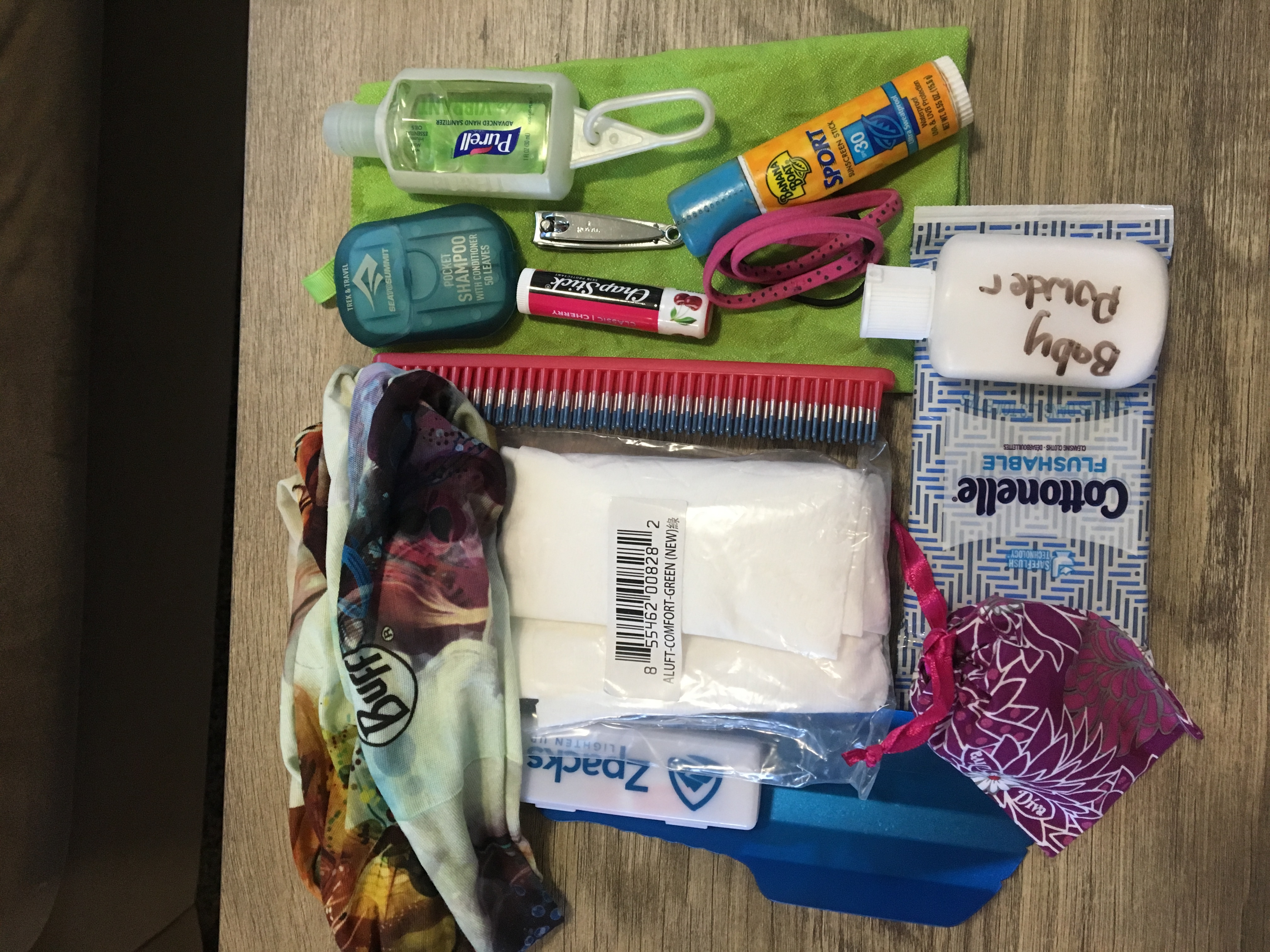 Toiletries photo