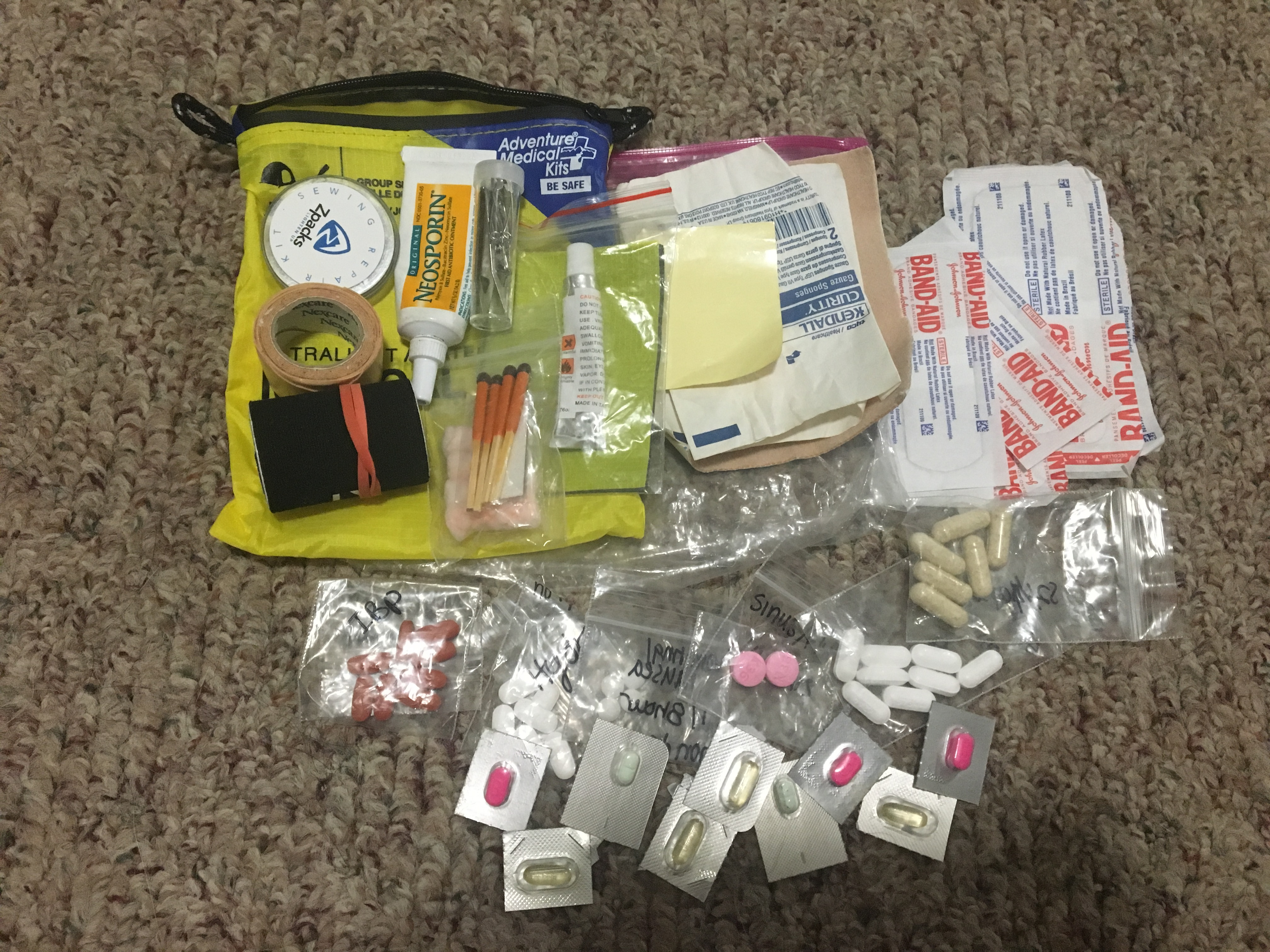 First-aid kit photo