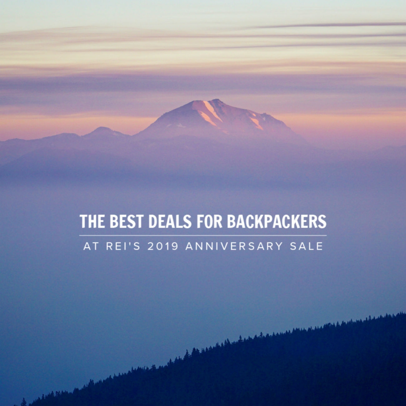 The Best Deals for Backpackers at REI's 2019 Anniversary Sale - The Trek