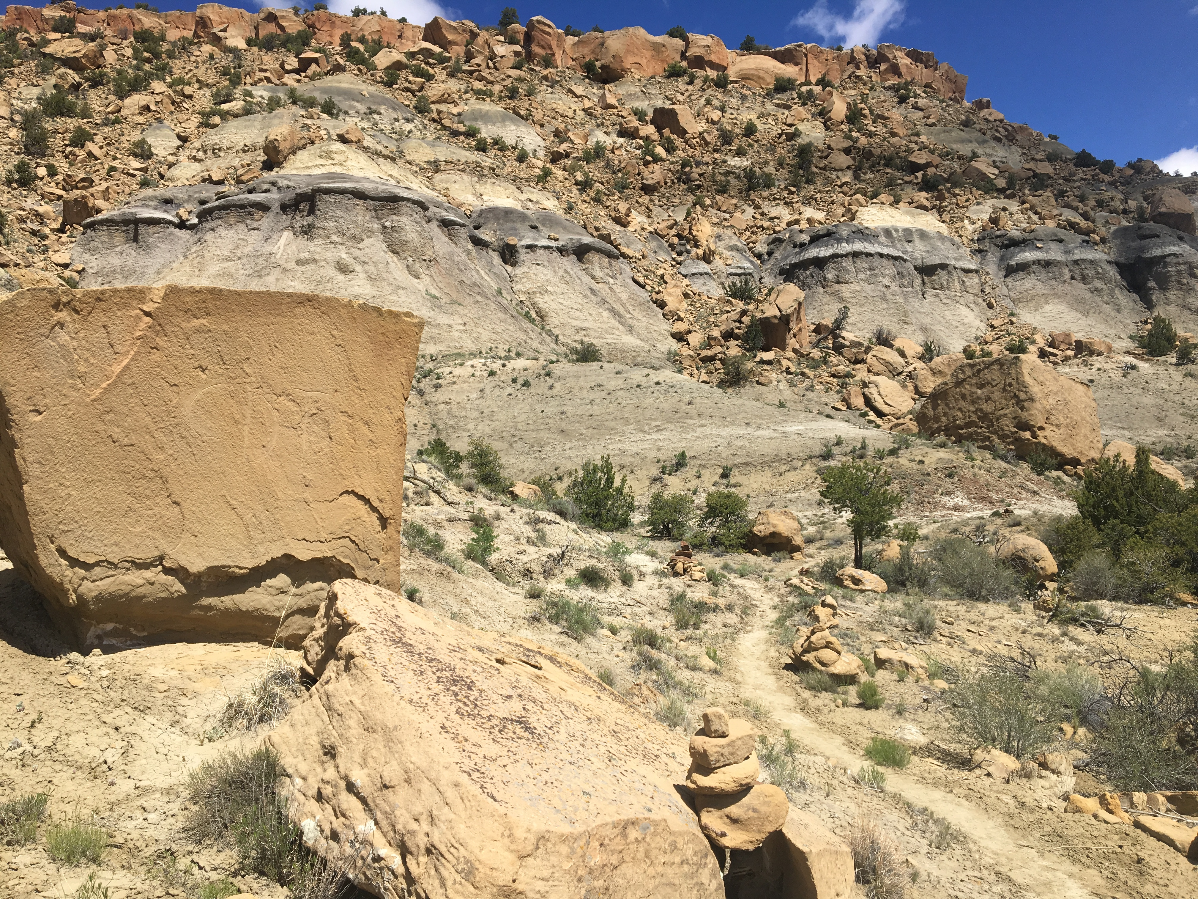 Mesas and Canyons. Getting to Cuba, Not that Cuba - The Trek