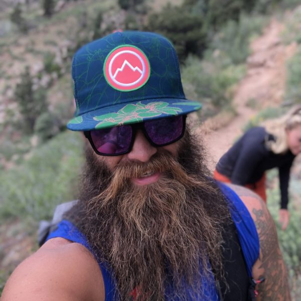 Rhodo Paradise Trucker hat Hiking Viking