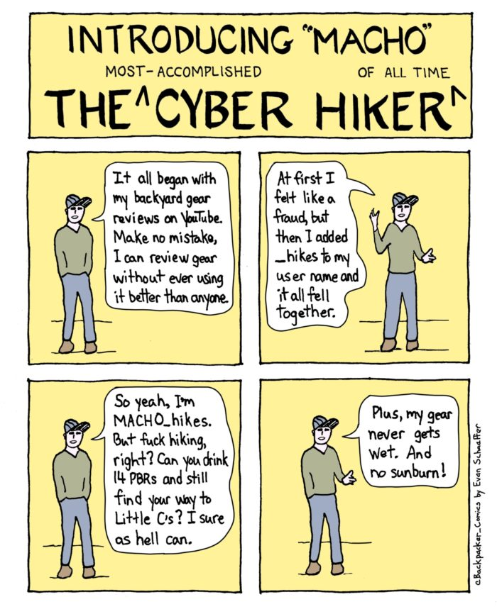 the most accomplished cyber hiker of all time