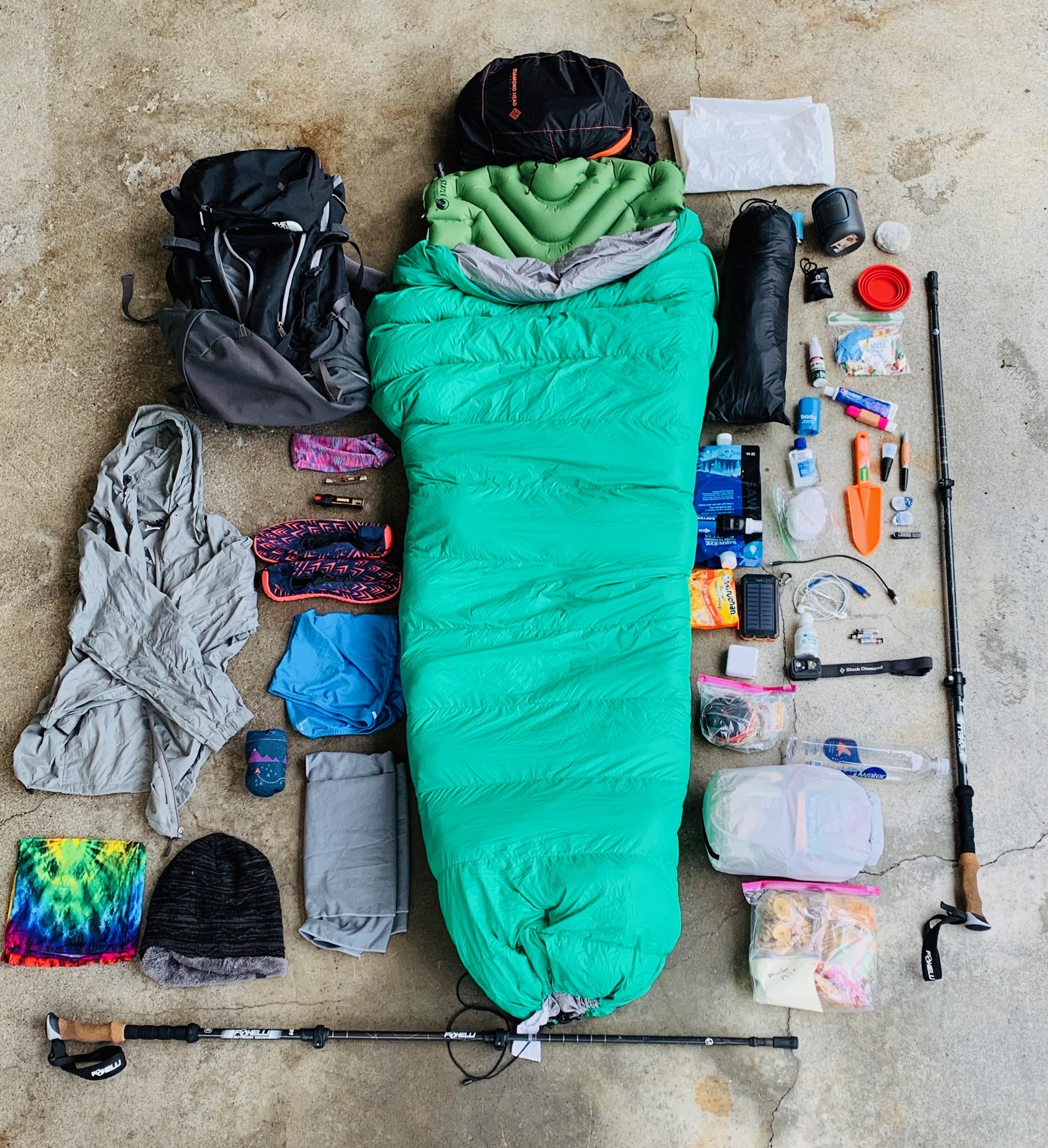 Marie Kondo: Backpacker edition - The Trek